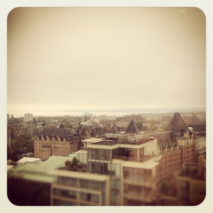 Victoria Cityscape edited with Instagram