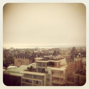 Victoria Cityscape edited with Instagram