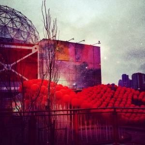 Science World in Vancouver edited with Picfx
