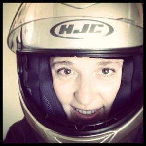 Helmet Selfie